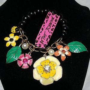 Betsey Johnson Charm Bracelet